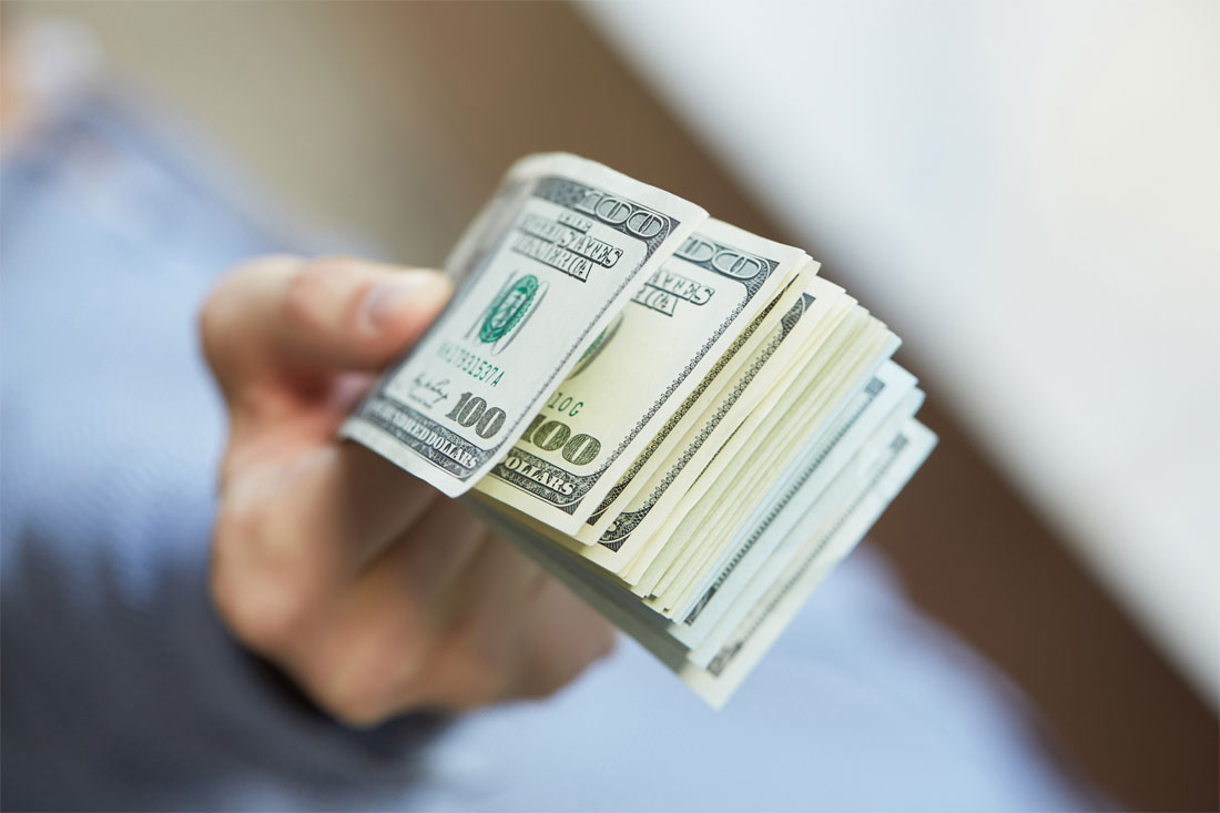 unclaimed recoveries cash in hand